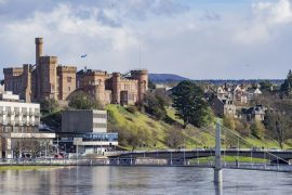 shutterstock_436186879_Beautiful Inverness cityscape with river view at ...