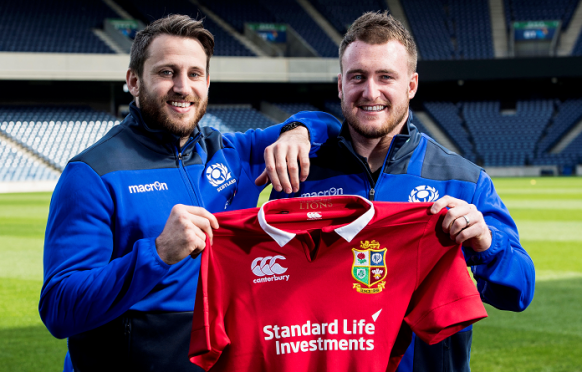 Tommy Seymour and Stuart Hogg have been called up