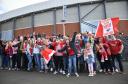 Aberdeen fans at Hampden Park