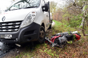 The collision happened on the Nether Aden Road near Mintlaw