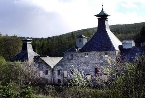 Coleburn Distillery is nestled in woodland near Fogwatt, about six miles south of Elgin.