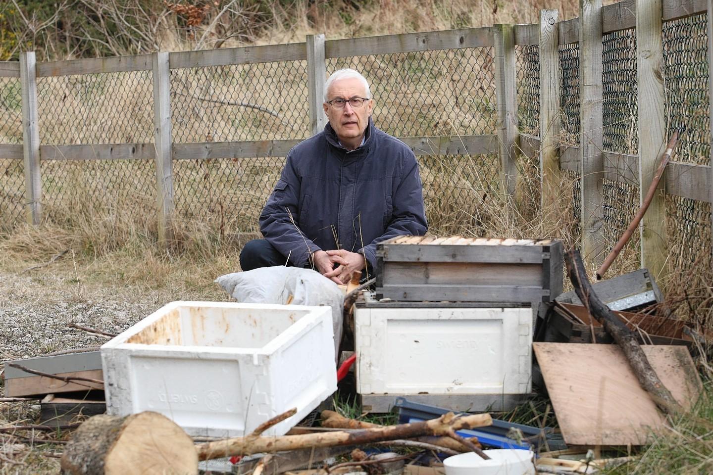 Community councillor Jean-Paul Kowaliski