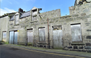 The derelict buildings at Love Lane