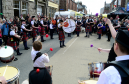 The May Day event in Turriff attracts massive crowds each year