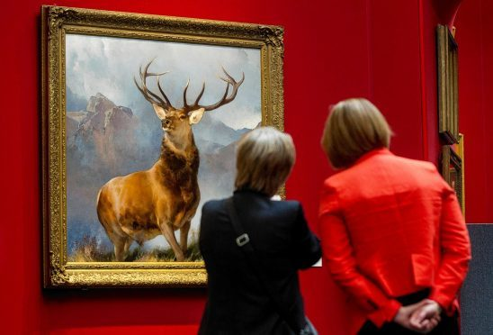 The Monarch of the Glen is to go on show in Inverness