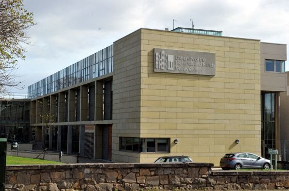 Moray College UHI in Elgin.
