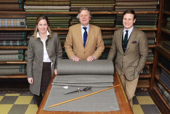 Left-right, Nicola Sugden, James Sugden and John Sugden, of Campbells of Beauly.
