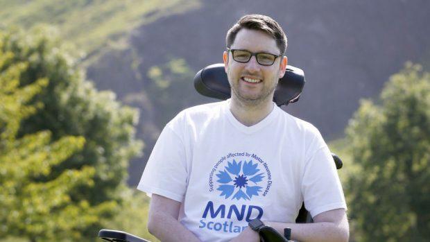 Motor neurone disease patient and campaigner Gordon Aikman