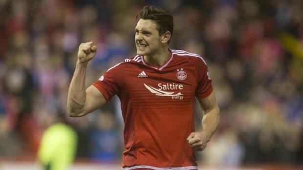 Aberdeen defender Ash Taylor.