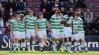 Celtic clinched the title with eight games to spare