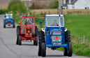 Almost 100 tractors took part in this year's run.