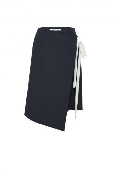 Voir Lab Midi Double Layered Wrap Skirt, £95 (www.voirlab.com)