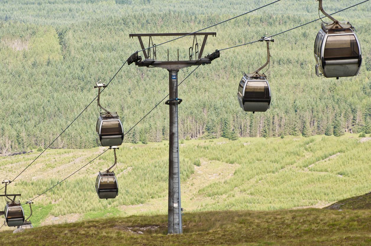 ski lifts in Scotland