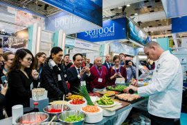 Scottish seafood is in big demand in Brussels