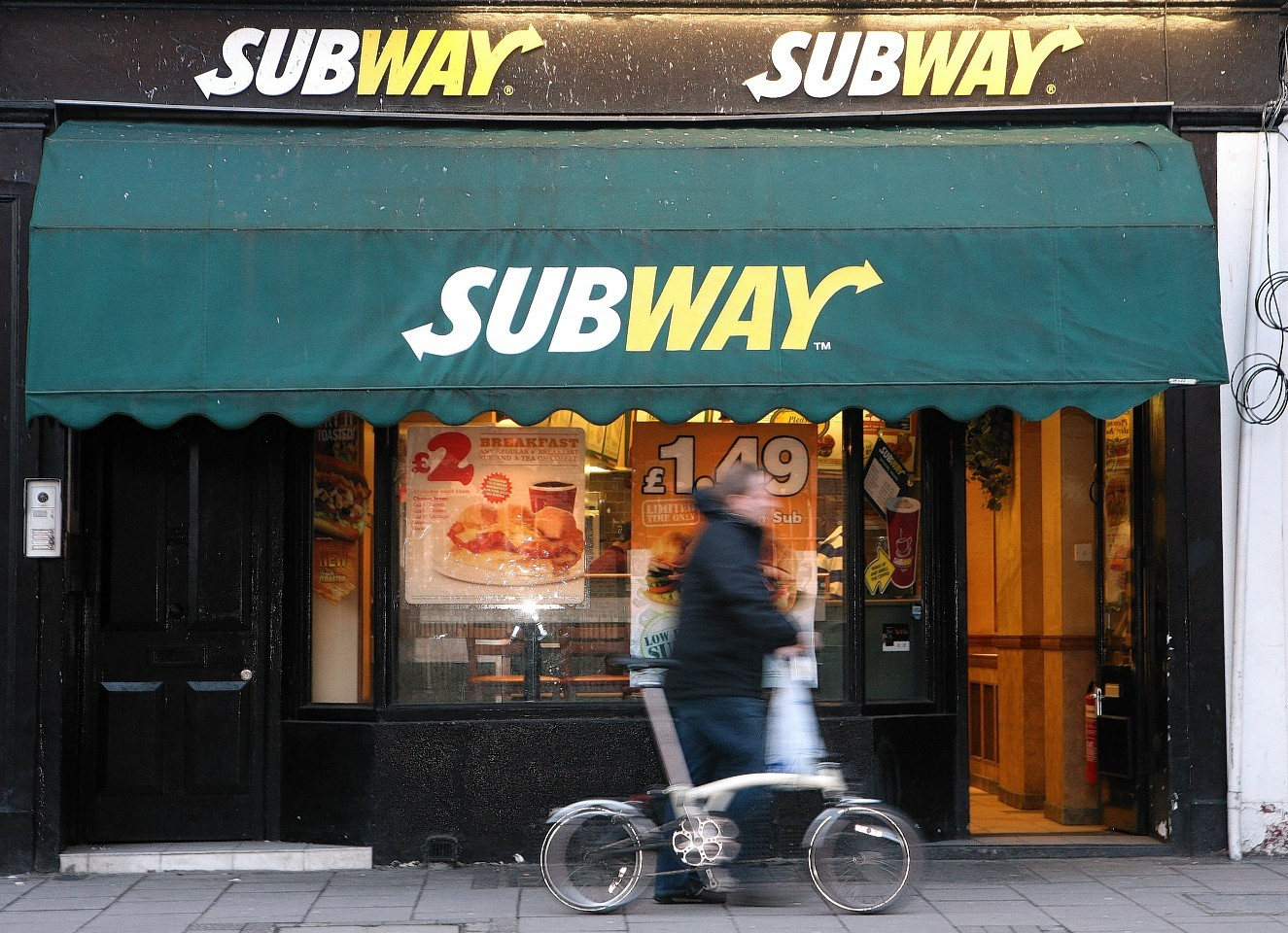 Subway stock