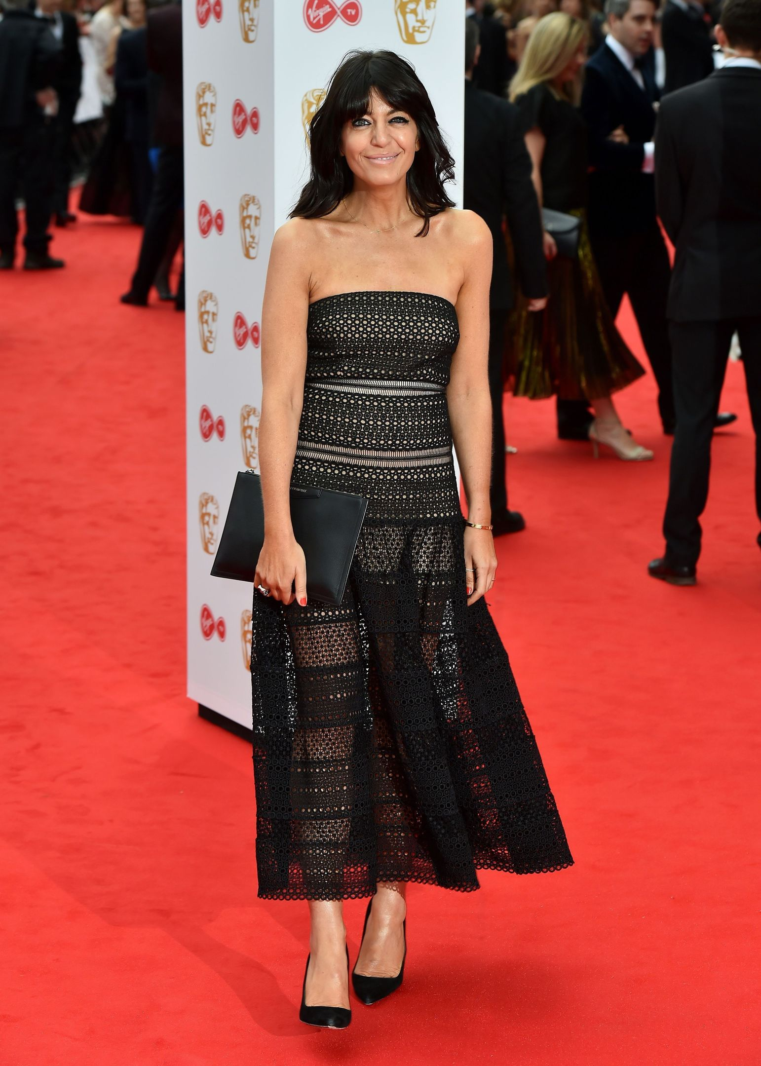 14/05/17 PA File Photo of Claudia Winkleman at the Virgin TV British Academy Television Awards 2017 held at Festival Hall at Southbank Centre, London. See PA Feature FASHION Stripes. Picture credit should read: Matt Crossick/PA Photos. WARNING: This picture must only be used to accompany PA Feature FASHION Stripes