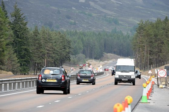 The Kincraig to Dalraddy section of the A9 dualling programme