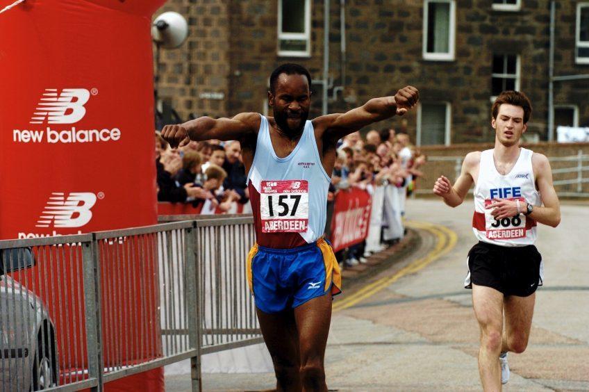 Men's winner Frankie Barton in 2005