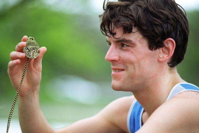 Winner of the 10k race is Perth man Mike Carroll.
