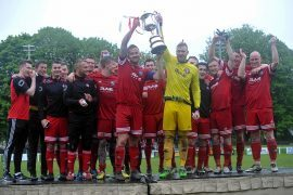 Brora Rangers lift the cup