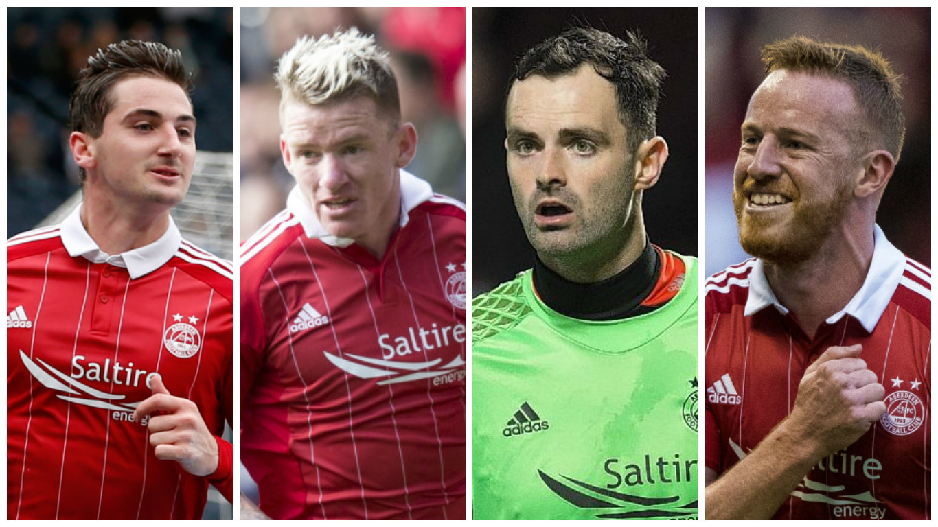 Everything you need to know about the Dons' Scottish Cup final team