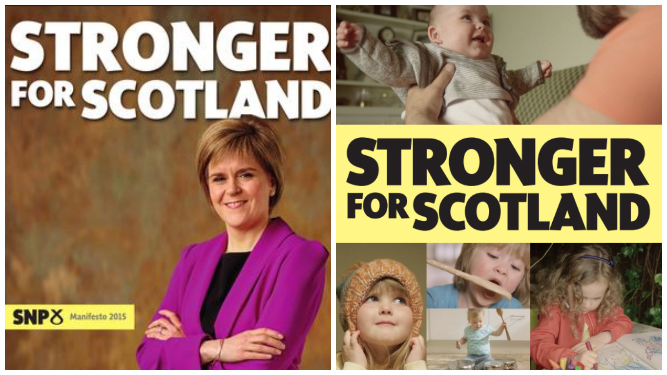 SNP manifestos from 2015 and 2017