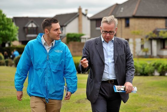 Michael Gove and Ross Thomson