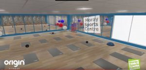 The mind and body studio has been designed for yoga, pilates and ballet.