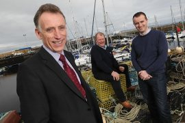 The Nairn Bid team, led by Alan Rankin (left), wants to hear from local entrepreneurs.