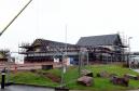 The pub taking shape at the Buchan Gateway.