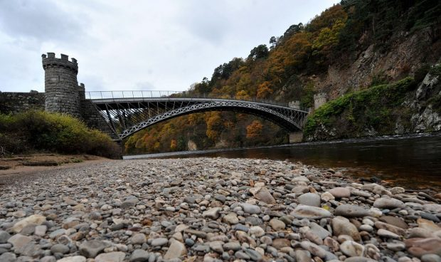 The picturesque bridge across the River Spey at Craigellachie could feature on the route.