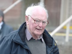 Thomas Seed photographed at Inverness Sheriff Court yesterday on the first day of his trial.