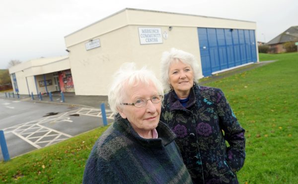 Anne McCreadie (left) Chairwoman of the Merkinch Community Centre Association, said move put strain on older voters