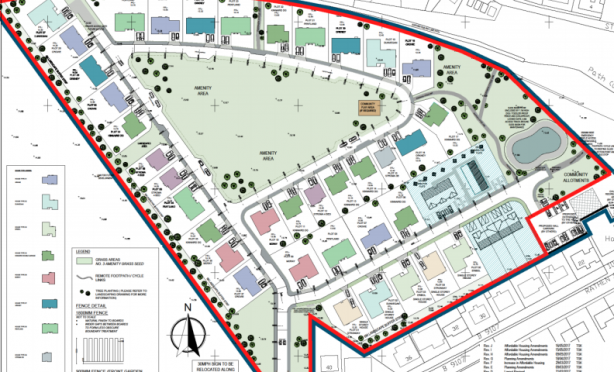 An overview of the Westhaven development.