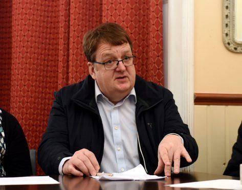 Simon Cruickshank, of Stonehaven's Ship Inn.