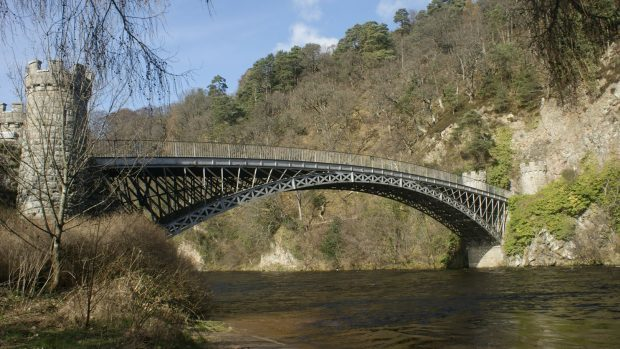 Craigellachie Bridge.