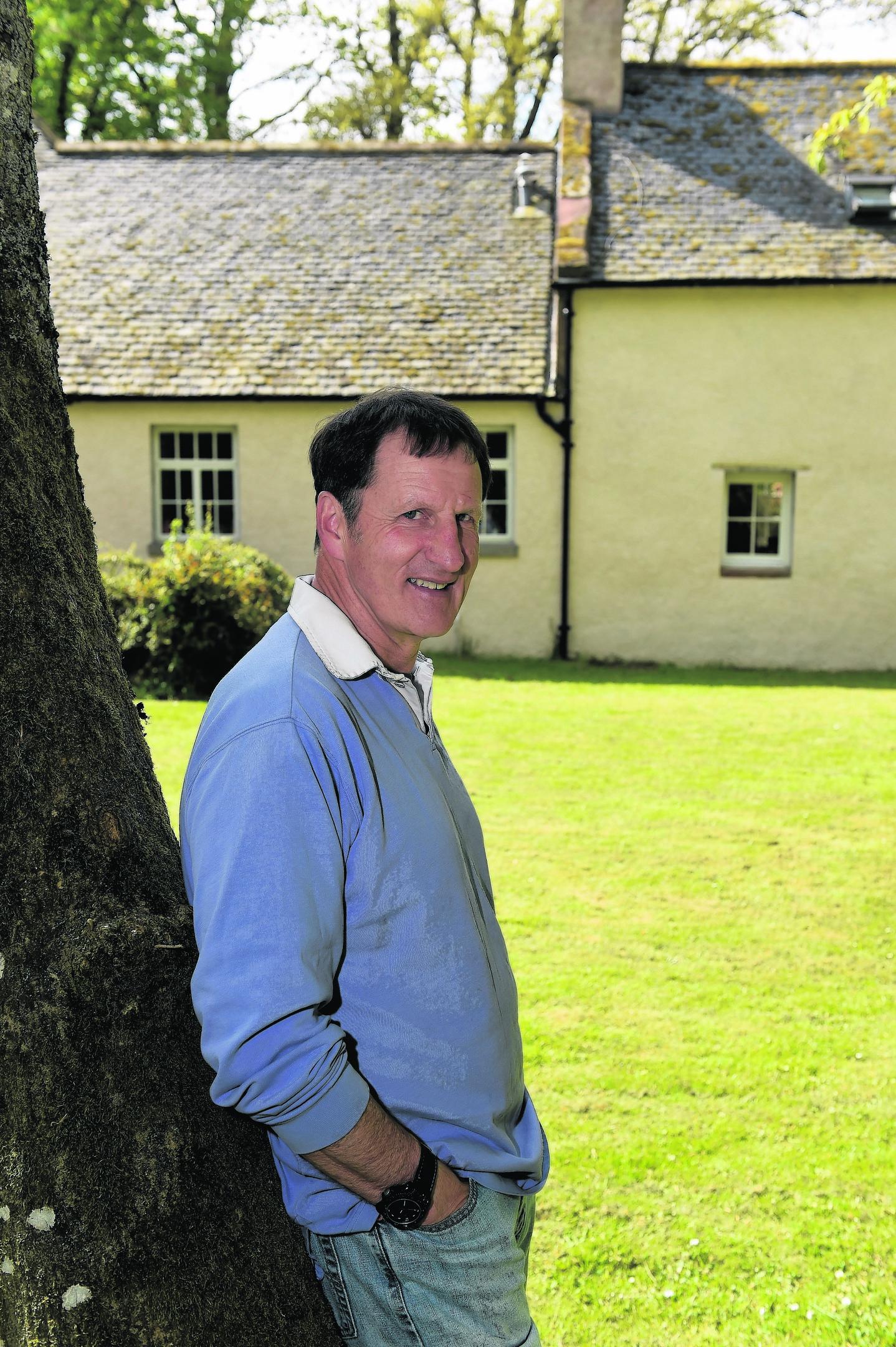 Owner Alastair Kennedy.