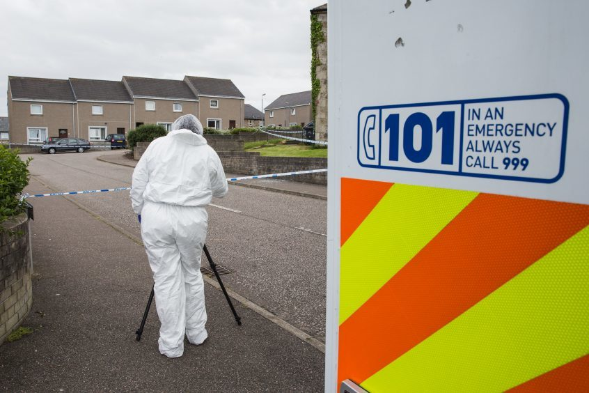 Police are investigating an incident at Fernie Place, Fraserburgh.
