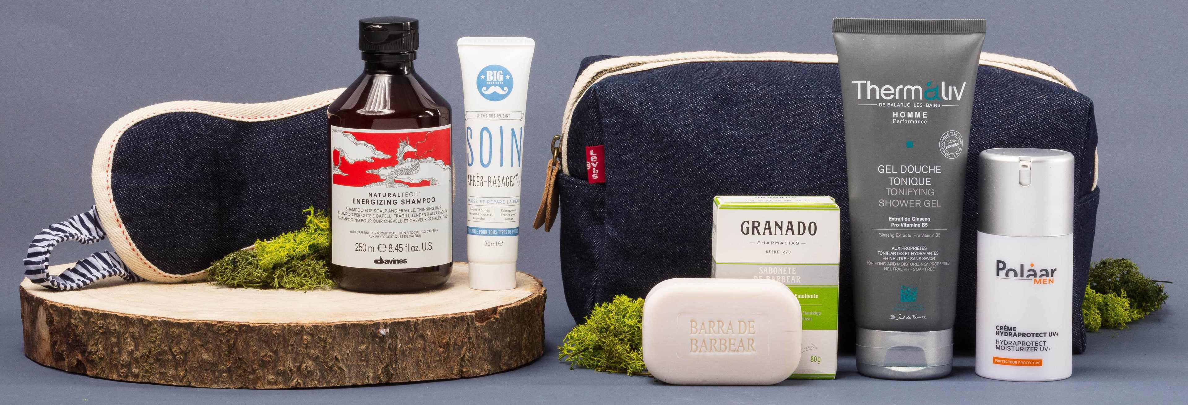 Birchbox Man, available from birchbox.co.uk. Picture credit: PA Photo/Handout.