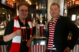 North-east brewery launches 'McInnes' beer in recognition of loyal Dons boss