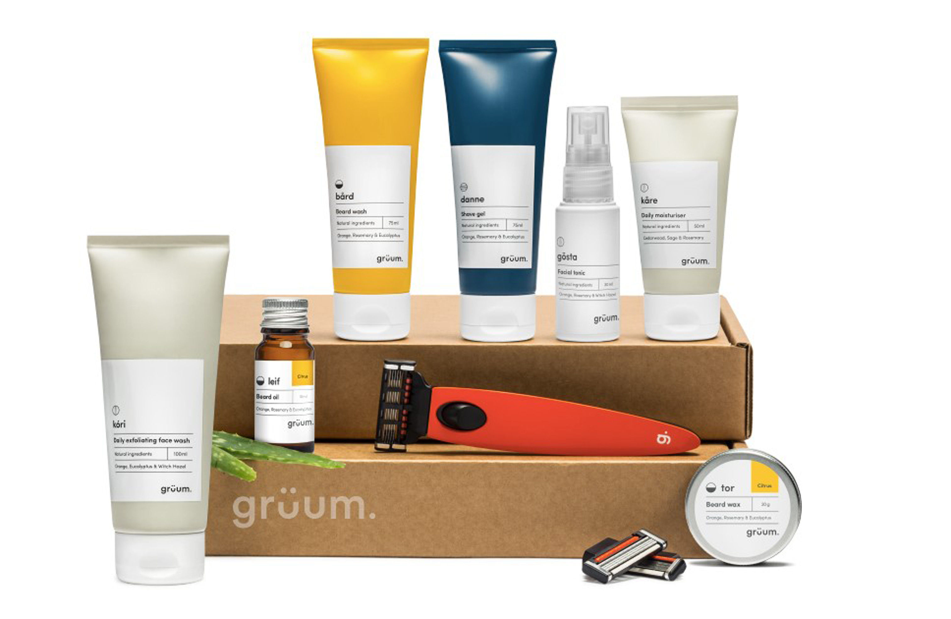 Gruum subscription service, available from Gruum.com. Picture credit: PA Photo/Handout.