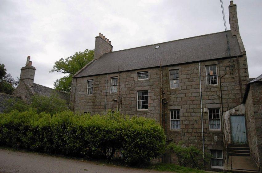 Sandy Ingram's farm house.