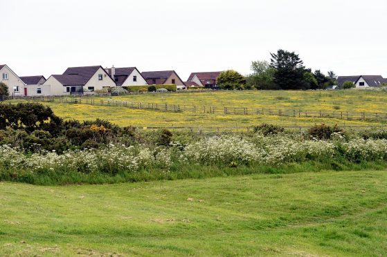 The Newtonhill land earmarked for development by Barratt