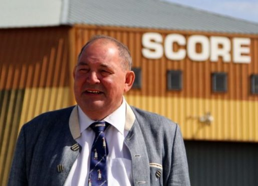 Former Score Group chairman Charles Ritchie