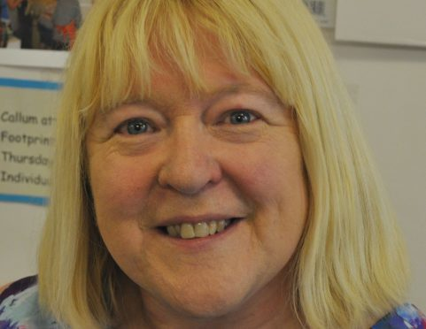 Sharon Aitken has been a teacher in Buckie for nearly 30 years.