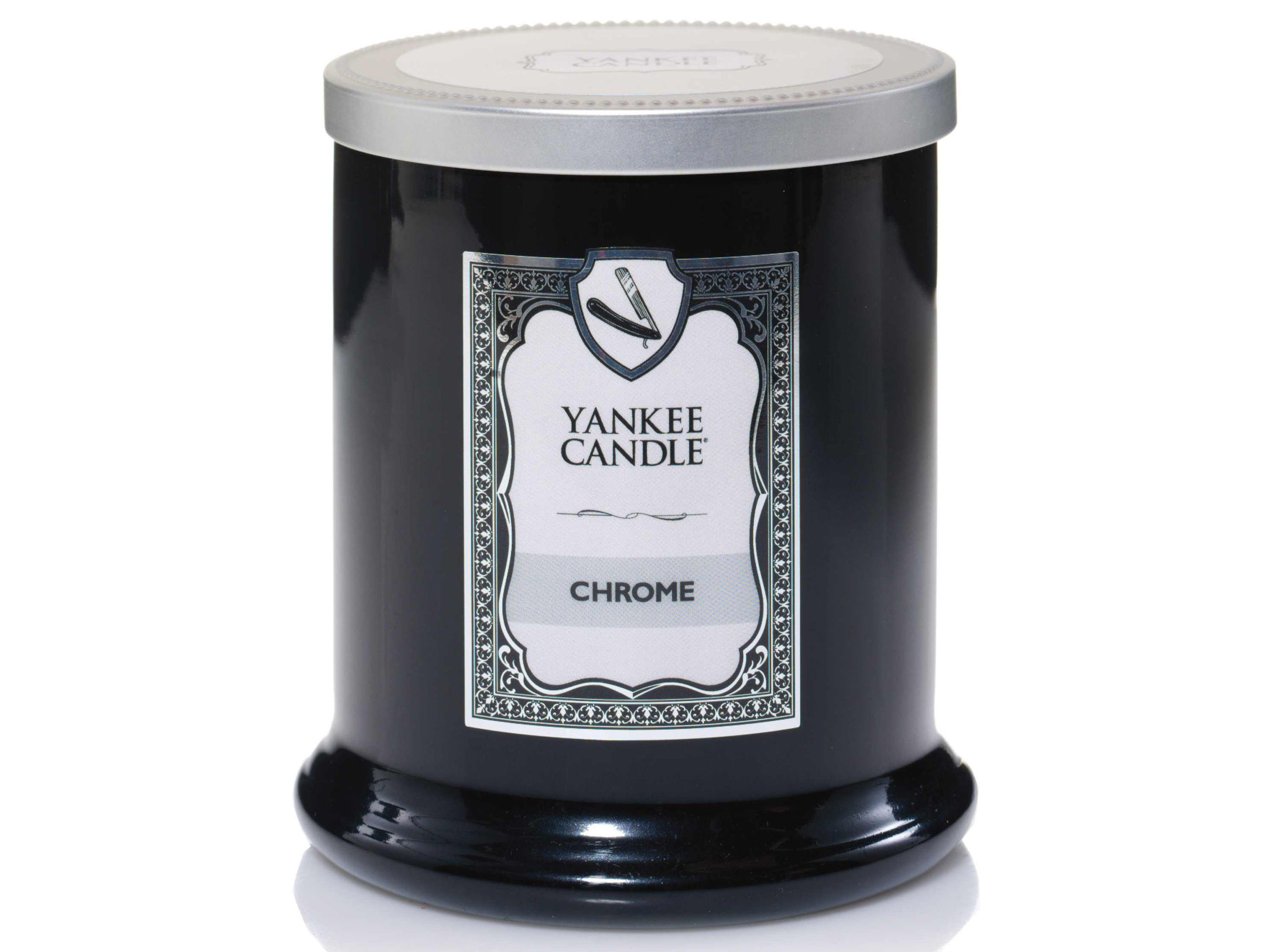 Yankee Candle Barbershop range, available from yankeecandle: PA Photo/Handout.