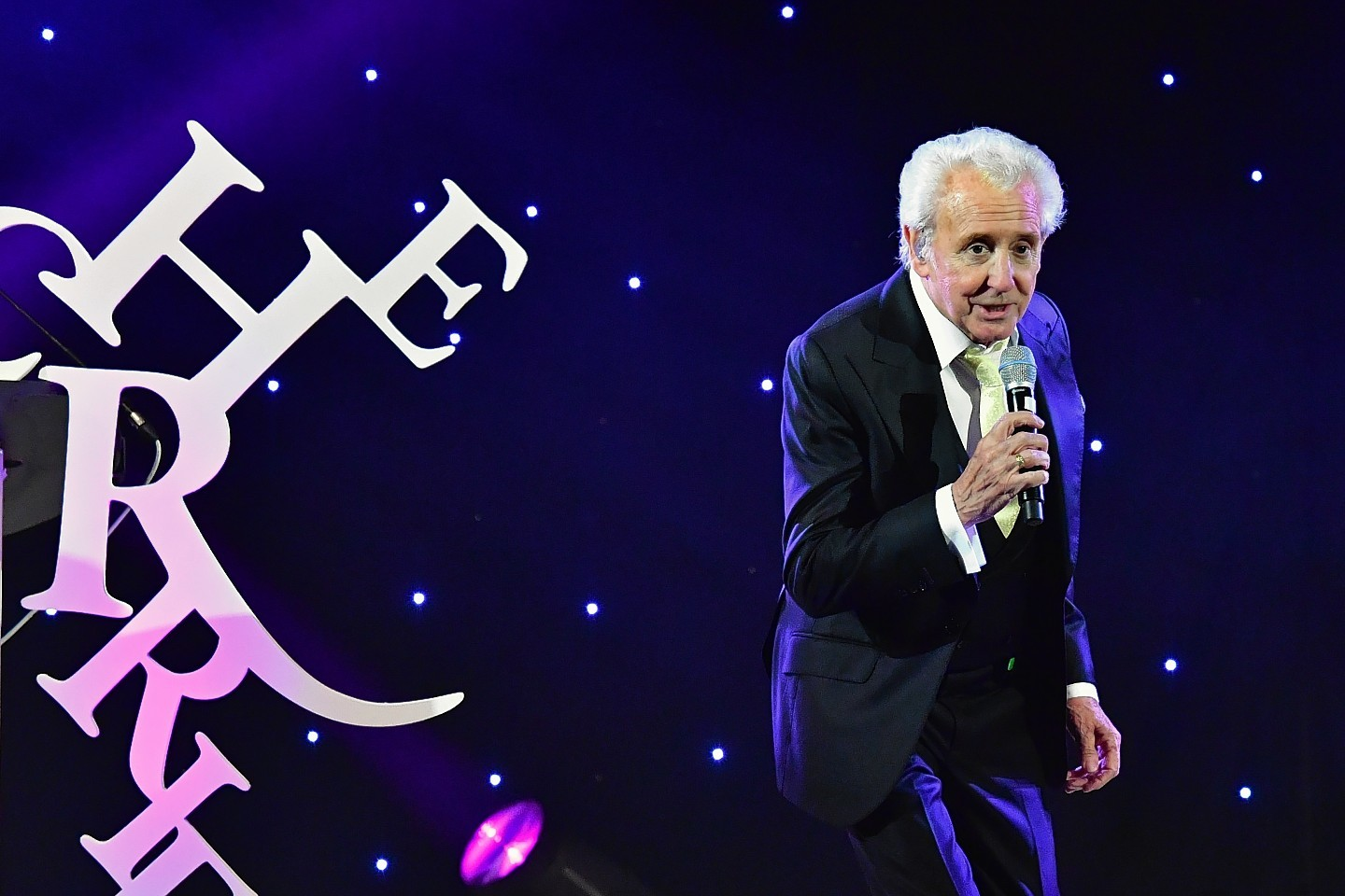 Tony Christie on stage