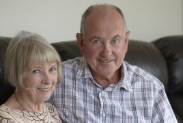 Annette, 71, and Colin Potter, 72, from Kincardine, Scotland