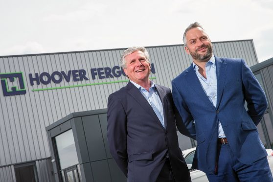 Andy Drummond, left, director of Hoover Ferguson and John Ray, managing director of Raiths Farm Properties