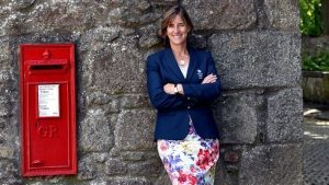 Dame Katherine Grainger was in Old Aberdeen to collect her honory degree from Aberdeen University
